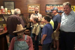 Keystone U.M.C. Cub Scouts Pack 146 Historic Tour