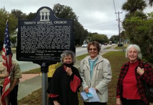 Historic Marker Unveiling at Trinity Episcopal Church